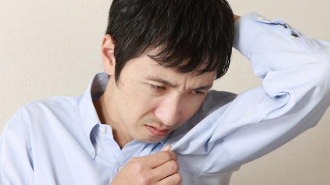 remove body odor
